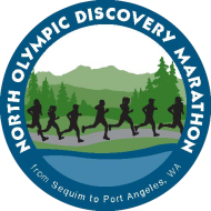 North Olympic Discovery Marathon logo on RaceRaves