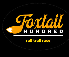 Foxtail Hundred Rail Trail Race logo on RaceRaves