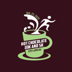 Asheville Hot Chocolate Races logo on RaceRaves