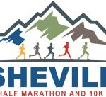 Asheville Half Marathon and 10K logo on RaceRaves