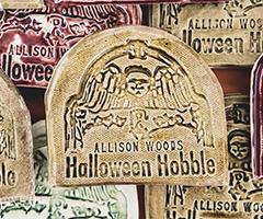 Allison Woods Halloween Hobble logo on RaceRaves