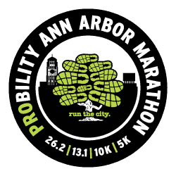 Ann Arbor Marathon logo on RaceRaves