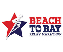 Beach to Bay Relay Marathon logo on RaceRaves