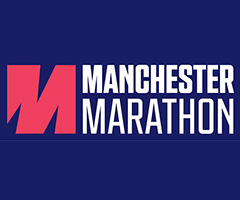 Manchester Marathon logo on RaceRaves