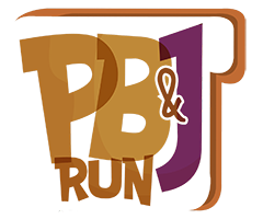 PB&J 5K & 10K logo on RaceRaves