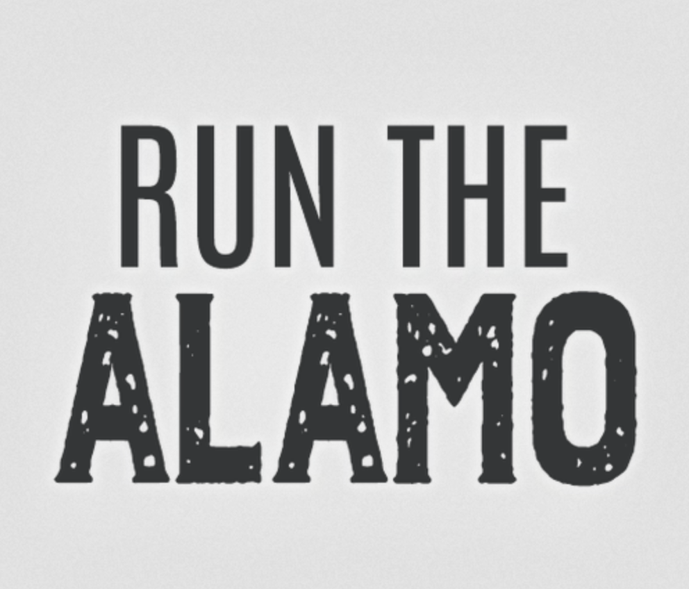 Run the Alamo 26.2 Marathon & 13.1 Half logo on RaceRaves