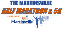 Martinsville Half Marathon & 5K logo on RaceRaves