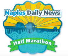 Naples Daily News Half Marathon logo on RaceRaves