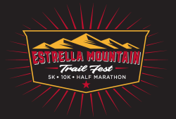 Estrella Mountain Trail Fest logo on RaceRaves