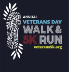 Veteran's Day Honor Walk and 5K Run (MO) logo on RaceRaves