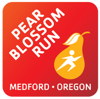 Pear Blossom Run logo on RaceRaves