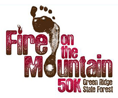 Fire on the Mountain Ultra Marathon logo on RaceRaves