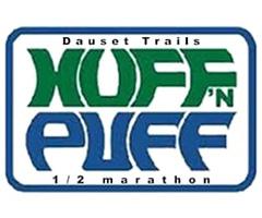 Huff N Puff Half Marathon & 5K logo on RaceRaves