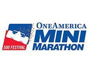 OneAmerica 500 Festival Mini-Marathon (Indy Mini) logo