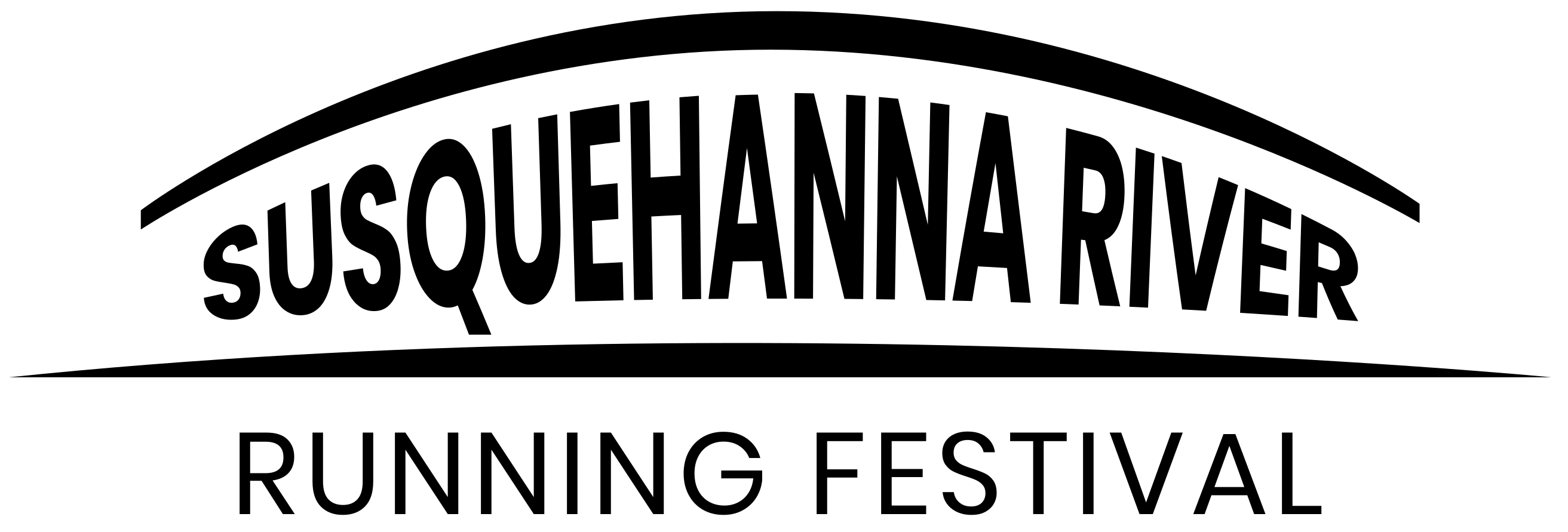 Susquehanna River Running Festival logo on RaceRaves