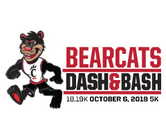 Bearcats Dash & Bash logo on RaceRaves