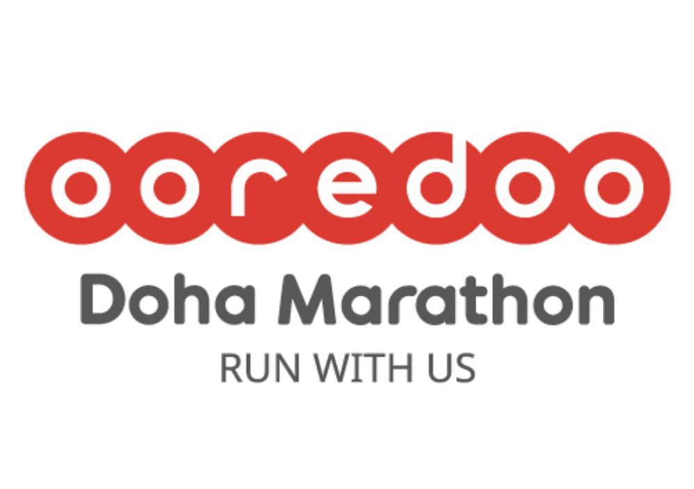Ooredoo Doha Marathon logo on RaceRaves