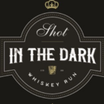 Shot in the Dark Whiskey Run logo on RaceRaves