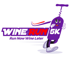 Wine Run 5K DC Estates logo on RaceRaves