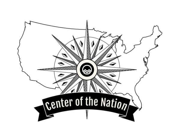 Mainly Marathons Center of the Nation Series Day 5 (ND) logo on RaceRaves