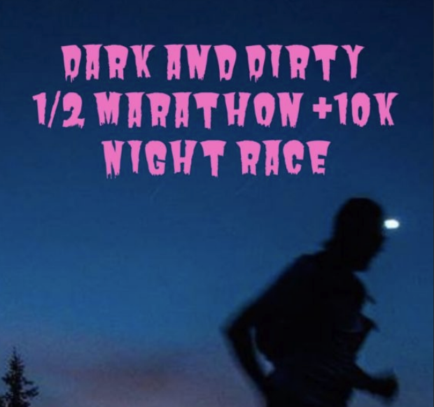 Dark & Dirty Night Race logo on RaceRaves