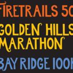 Bay Ridge 100K, Dick Collins Firetrails 50 & Marathon logo on RaceRaves