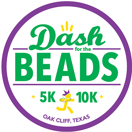 Dash for Beads 5K & 10K logo on RaceRaves