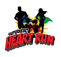 Richmond Superhero Heart Run logo on RaceRaves