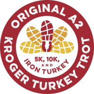 Kroger A2 Turkey Trot logo on RaceRaves
