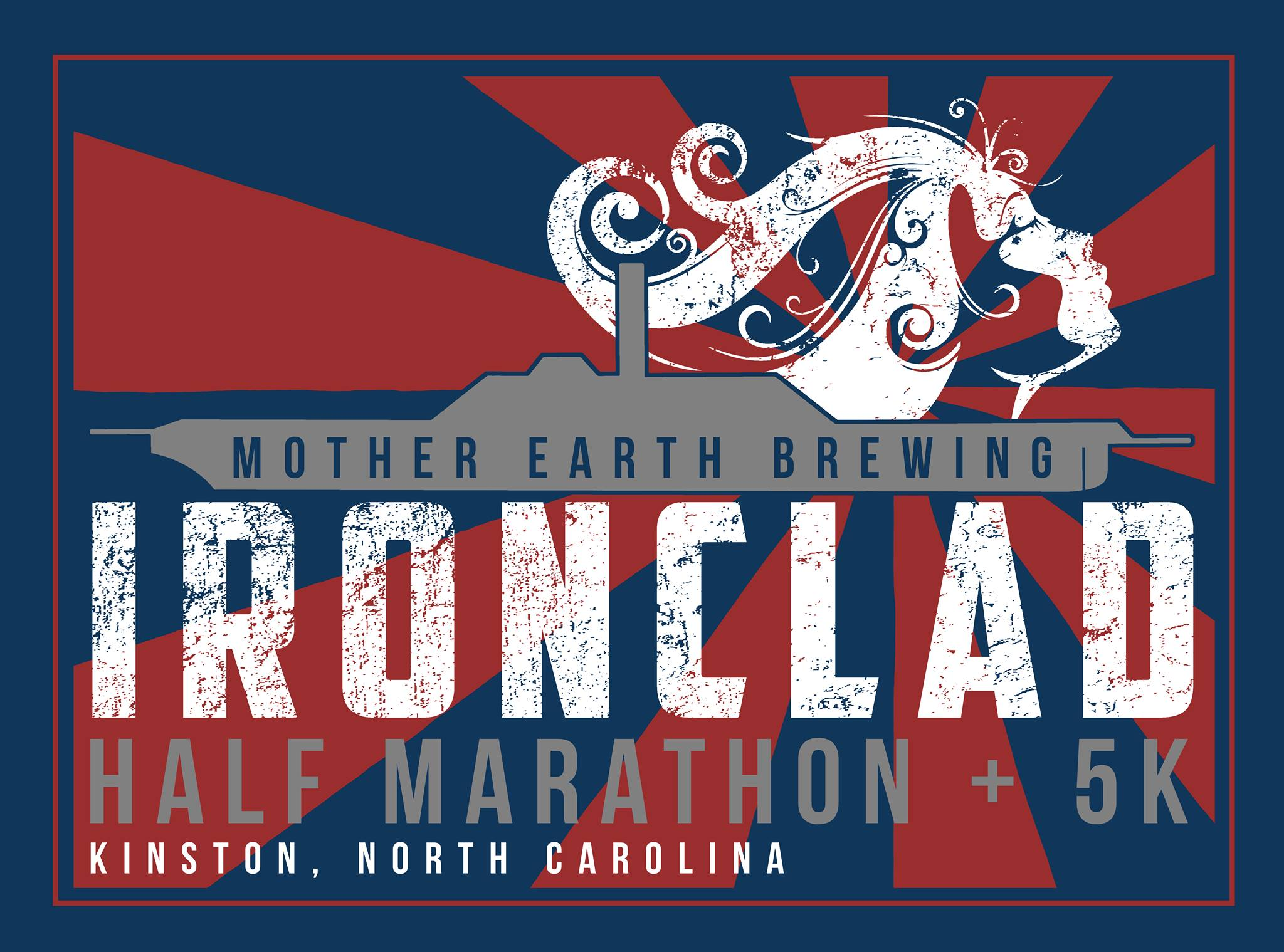 Ironclad Half Marathon & 5K logo on RaceRaves