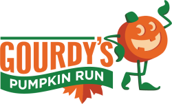 Gourdy's Pumpkin Run Cincinnati logo on RaceRaves