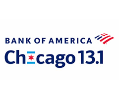Bank of America Chicago 13.1 logo on RaceRaves