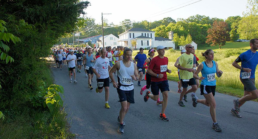 Harpers Ferry Half course