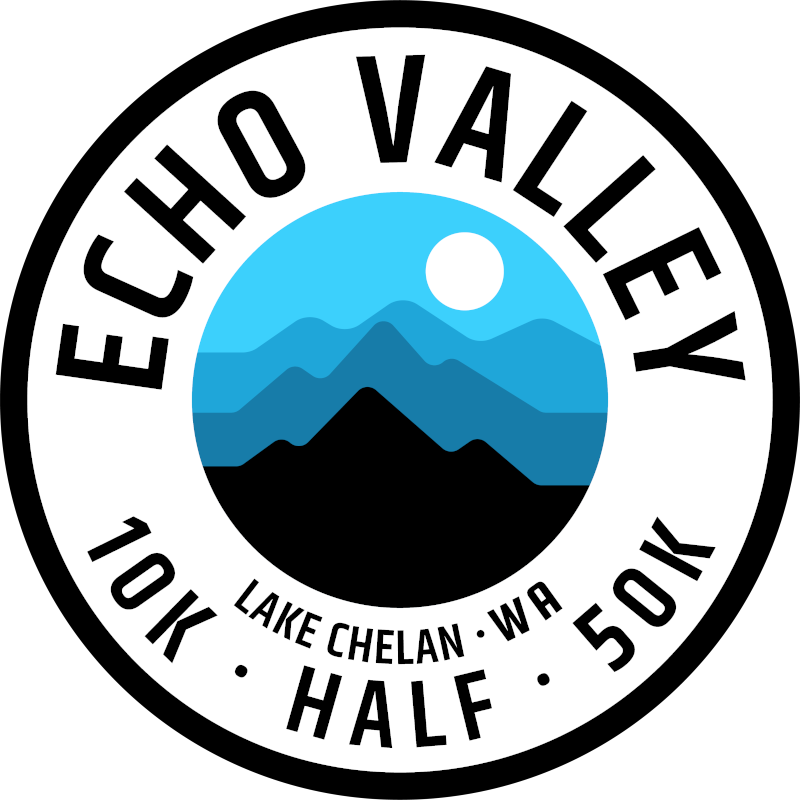 Evergreen Echo Valley Trail Runs logo on RaceRaves