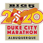 Duke City Marathon logo on RaceRaves