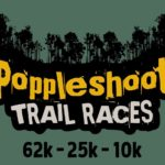 Poppleshoot Trail Races logo on RaceRaves