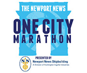 Newport News One City Marathon logo