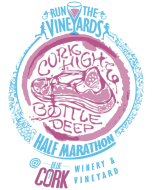 Run the Vineyards Cork High & Bottle Deep Half Marathon logo on RaceRaves