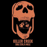Killer Creek 50K, 25K & 8 Mile logo on RaceRaves