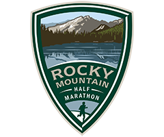 Rocky Mountain Half Marathon logo on RaceRaves
