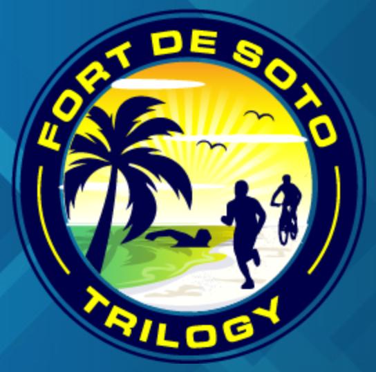 Fort DeSoto Triathlon Trilogy #1 logo on RaceRaves