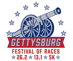 Gettysburg Festival of Races (North-South Marathon & Blue-Gray Half) logo on RaceRaves