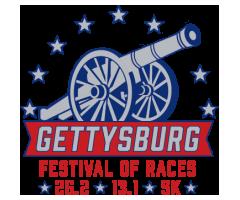 Gettysburg Festival of Races (North-South Marathon & Blue-Gray Half) logo on RaceRaves