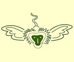 Harpeth Hills Flying Monkey Marathon logo on RaceRaves
