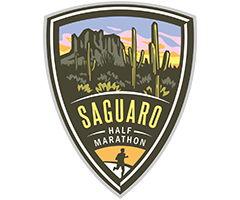 Saguaro Half Marathon logo on RaceRaves