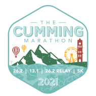 Cumming Marathon logo on RaceRaves