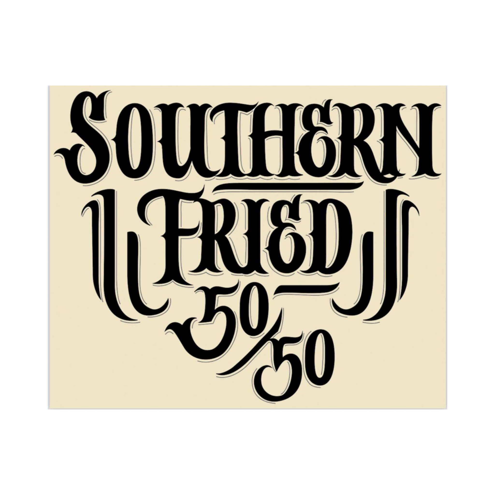 Southern Fried 50M & 50K logo on RaceRaves