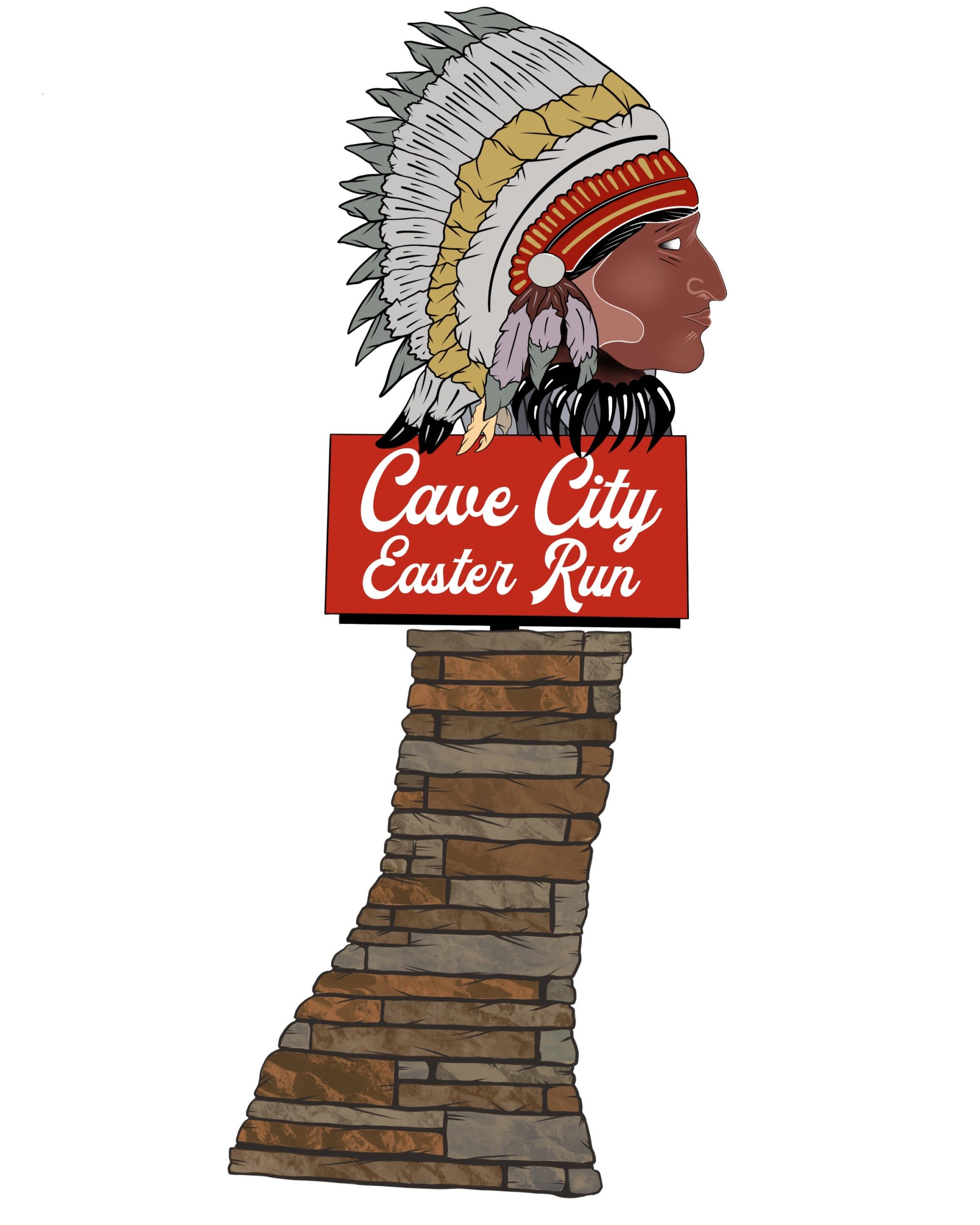 Cave City Easter Run logo on RaceRaves
