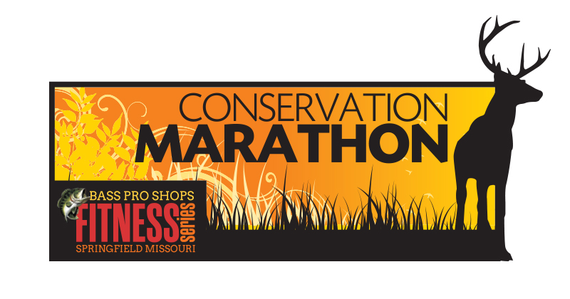 Bass Pro Shops Conservation Marathon & Cohick Half Marathon logo on RaceRaves