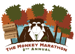The Monkey Marathon logo on RaceRaves